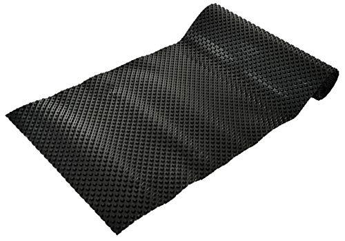 GASPO Noppenfolie für Hochbeete, 4,5 m x 0,85 m, schadstoffreie Noppenbahn, 500g/m2