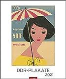 DDR - Plakate Edition Kalender 2021
