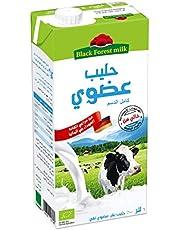 Black forest/organic full fat UHT milk - 1L
