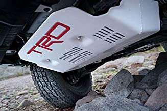 trd stamped aluminum front skid plate