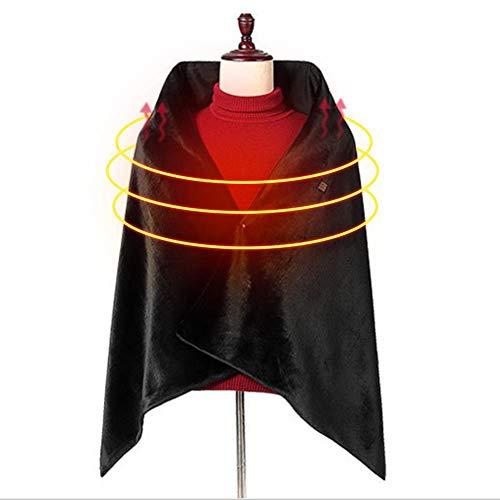 BNBXP USB-verwarming, warme sjaal, zachte verwarming, wrap, carbon vezel, winter, elektrische verwarming, deken, pad voor auto-bank