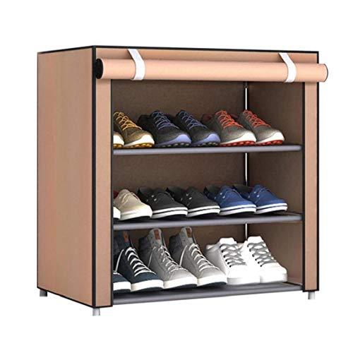 TOPofly La Tela no Tejida Zapatos Rack Zapatos Organizador habitación Dormitorio Bastidores del Zapato