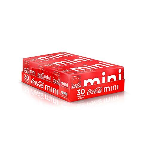 Coca-Cola Mini Cans (7.5 Oz., 30 Pk.)Vevo