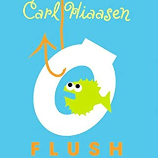 Flush audiobook cover art