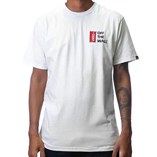 Camiseta Vans Algodão White VN0A4A5DWHT