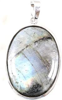 pendentif en Labradorite pierre des Therapeutes
