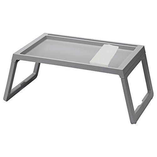 IKEA TV Knietablett, grau – gut für TV, Filme, Frühstück im Bett, Mittagessen, Brunch, Abendessen