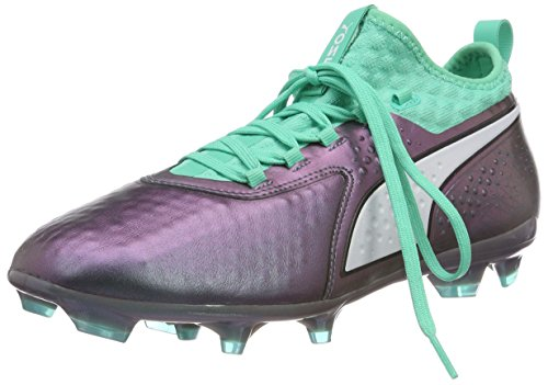 Puma Herren ONE 2 IL LTH FG Fußballschuhe, Violett (Color Shift-Biscay Green White Black), 44 EU