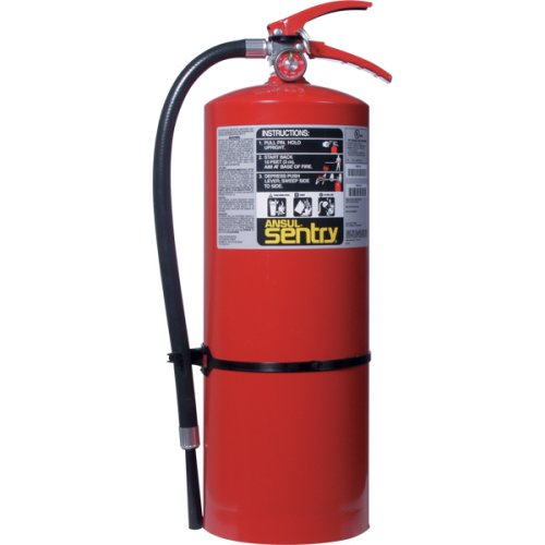 Ansul 434747 Sentry 20 lb ABC Fire Extinguisher w/ Wall Hook
