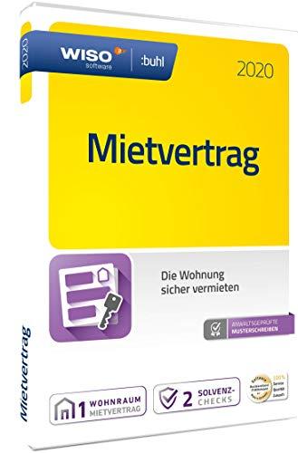 WISO Mietvertrag 2020 Vollversion, 1 Lizenz Windows Finanz-Software