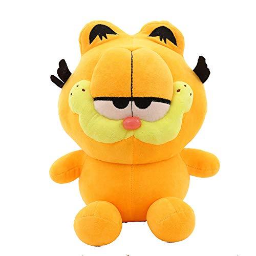 stogiit Neue Süße Haustier Q Version Garfield Plüschtier Puppe Puppe Greifen Maschine Puppe Kindergeburtstagsgeschenk Q Version Garfield 40 cm