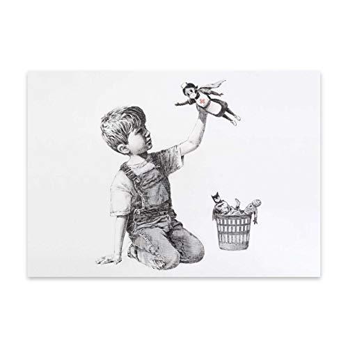 stika.co Banksy - Poster da 220 g (A3-420 x 297 mm)