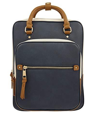 Accessorize Harriet Vegan Backpack Women Darks-Multi Rucksack Fashion Shoulder Bag