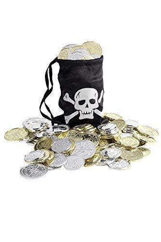 Smiffy's-28344 Bolsa de monedas pirata