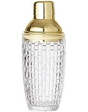 Bloomingville Coctelera de cristal transparente