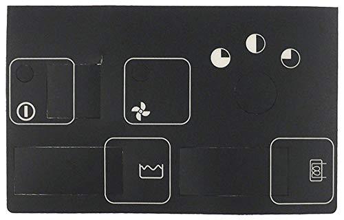 Silanos N1000 - Lámina frontal para lavavajillas (110 x 180 mm)