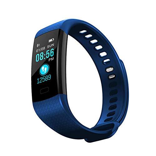 QJXSAN Smart Armband Herzfrequenz Blutdruck Oximetrie Schritt Schlaf Überwachung Touch-Farbdisplay Digitalanzeige USB direkte Ladung