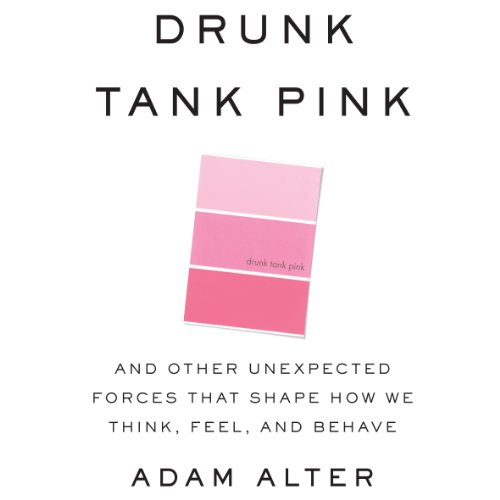 Drunk Tank Pink audiobook cover art
