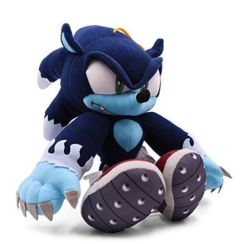wqmdeshop Juguete Suave Sonic Die Werehog Muñeca Suave Animal De Dibujos Animados Peluche Peluche Niños
