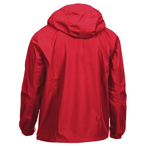 Men's Thunderhead Peak Rain Jacket Crimson XL