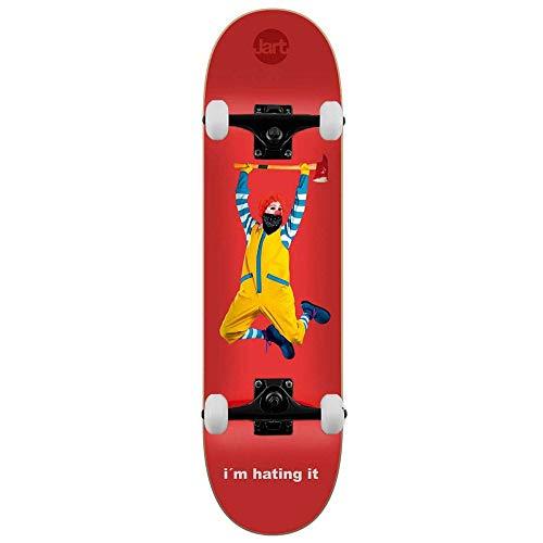 Jart Skateboards Junk Food Komplett-Skateboard, 21 x 80 cm, LC