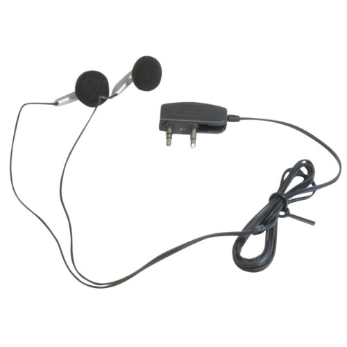3,5 mm (Twin/2) Jack Plug In Flight Vliegtuig In-Ear Stereo Oortelefoons/Koptelefoon