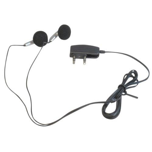 3,5 mm (Twin/2) Jack Plug In Flight Vliegtuig In-Ear Stereo Oortelefoons/Koptelefoon