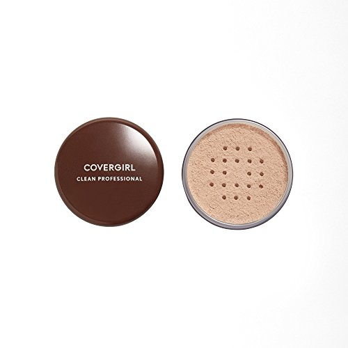 COVERGIRL Professional Loose Finishing Powder, Translucent Light Tone, Sets Makeup, Controls Shine, Won't Clog Pores, 0.7 Ounce (Packaging May Vary)