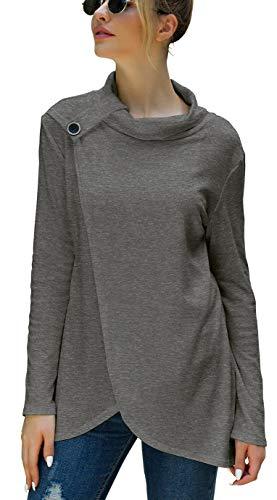 SELECTEES WomenGraphic Cute T Shirt Summer Tees(Gift Ideas) Dark Grey XX-Large