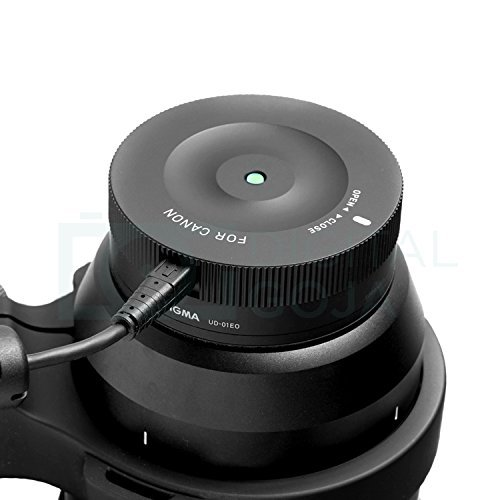 Sigma USB Dock for Canon Mount Lenses with Lens Pouch and Camera Cleaning Set