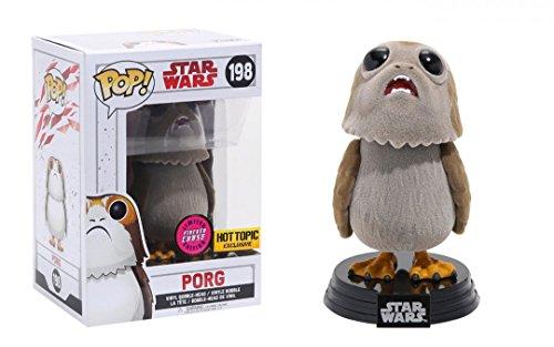 Funko Pop! Star Wars The Last Jedi Porg #198 (Flocked Chase)