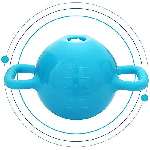 YLJYJ Pesa rusa cargada de agua, peso ajustable de 1 a 15 libras, intensidad de yoga, equipo de ejercicio físico en casa gimnasio