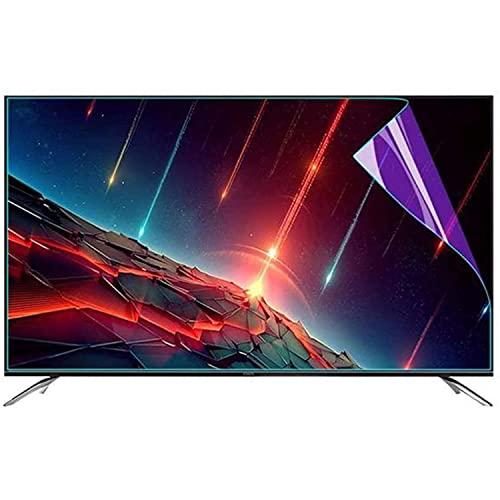 Material PET Protector pantalla TV anti luz azul para TV 32-65 pulgadas, antideslumbrante, se adapta a la mayoría las pantallas, alivia la fatiga ocular, lo ayuda a dormir mejor,49'1075*604mm