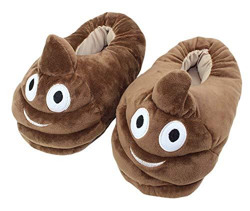 Zapatillas de Peluche de Dibujos Animados Lindo Zapatillas de Algodón de Felpa Confortables Interiores de Invierno Cojines Antideslizantes para Los Pies