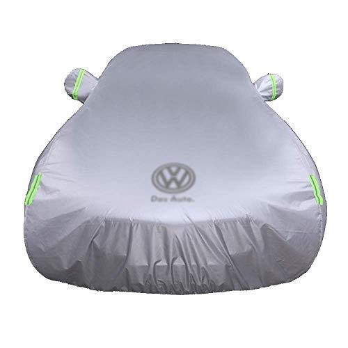 Car Cover Outdoor Sedan Cover Waterdicht winddicht All Weather Krasbestendig Outdoor UV bescherming Past Caravelle, klantgericht, silver2 clmaths (Color : Silver2, Size : -)