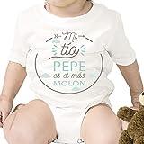 Regalo personalizado: body para bebé 'Tío Molón' personalizado con parentesco...