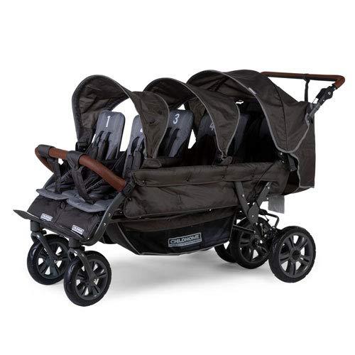 Unbekannt Childwheels Kinderwagen Sixpack - Krippenwagen Sixseater Sechssitzer