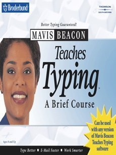 Mavis Beacon Teaches Typing: A Brief Course