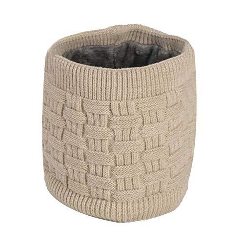Lsgepavilion Bufanda unisex para otoo, invierno, suave, lavable, con carga USB, calentador de cuello, resistente al viento y clido, color camello