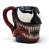 Venom SCMG25111 (Head) Shaped Mug, Multicolore