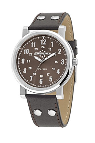Chronostar Watches Aviator R3751235002 - Orologio da Polso Uomo