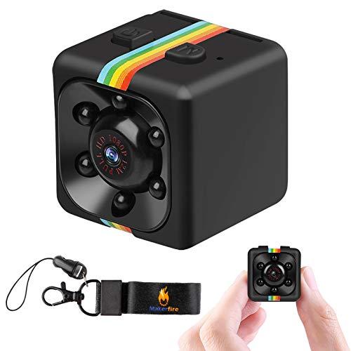 Cámara Spy HD Videocámara 1080P Mini cámara espía cámara Secreta Visión Nocturna FOV120 Deportes DV Video Recorder, pequeña cámara de vigilancia para el hogar