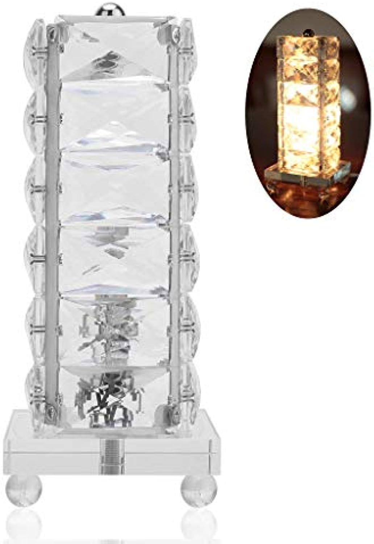 Schreibtischlampen Minimalistischen Rechteck Kristall Tischlampen Kreative Wohnzimmer Schlafzimmer Nacht Studie Warme Leselampen Persnlichkeit Schreibtischlampen LED Tisch- & Nachttischlampen