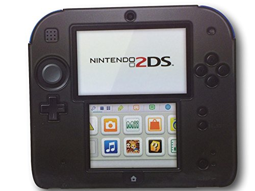 PdP Silicone Case/cover for Nintendo 2DS (Black)