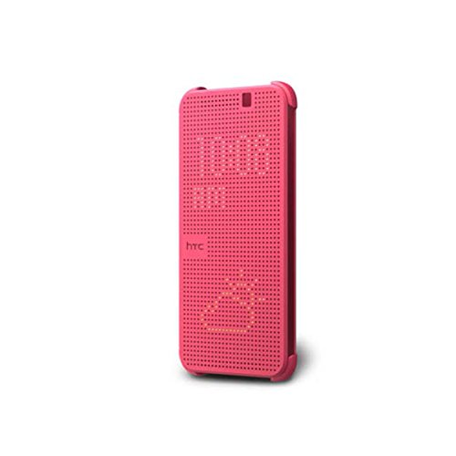 HTC Dot View Case for HTC One M9 - Retail Packaging - Pink