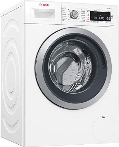 Bosch WAWH8640 wasmachine voorlader 8 kg 1379RPM A+++ wit – wasmachine (voorlading, wit, draaibaar, aanraken, links, 8 kg)