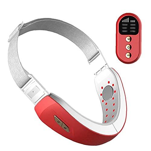 V-Gesicht Shaping Massage elektrische Geräte Facial Lifting Slimmerbelt Maschine Rot