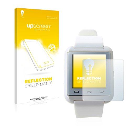 upscreen Entspiegelungs-Schutzfolie kompatibel mit U Watch U8 – Anti-Reflex Displayschutz-Folie Matt