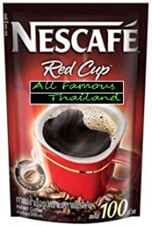 NEW Instant Coffee Nescafe Red Cup Drinking - Original 200 G Product of Thailand