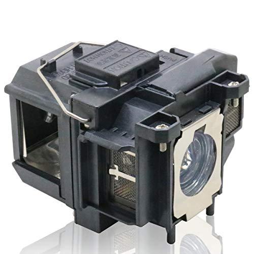 PanPacSight Lampada per Proiettore ELPLP67 Compatibile con Epson H430A H430B H430C H433B H435B H457B H432B H436B, EH-TW480 TW550 TW400, EX3212 1261W, Powerlite Home Cinema 710HD 1221 Videoproiettore